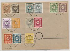LO08187 Germany 1946 Dresden cover with nice cancels used