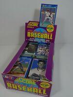 1991 Series 2 Score Major League Baseball Opened Box