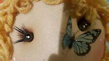 Handmade Doll. Cloth Doll . Interior Doll, fabric doll, flower doll
