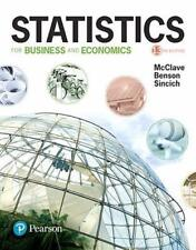 Statistics for Business and Economics 13th Global Edition