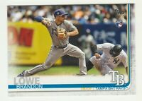 2019 Topps #114 BRANDON LOWE RC Rookie Tampa Bay Rays