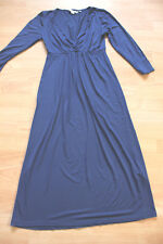 BODEN blue  jersey dress  size 8L   WH277