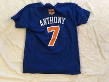 TEE SHIRT DU MAILLOT CARMELO ANTHONY NEW YORK KNICKS NBA BASKET