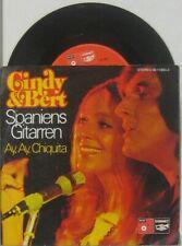 """Cindy & Bert Spaniens Gitarren / ay ay  Chiquita , 7"""" 45"""