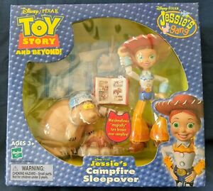 2002 Toy Story And Beyond Jessie's gang Campfire Sleepover in sealed box