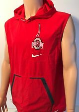 NEW Ohio State Buckeyes OSU Nike Alpha Fly Rush Jacket Vest Red Men s Large  NCAA 54037c554