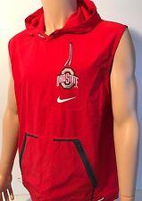 NEW Ohio State Buckeyes OSU Nike Alpha Fly Rush Jacket Vest Red Men's Large NCAA