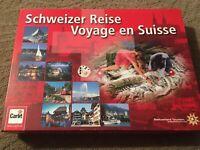 Schweizer Reise Voyage en Suisse Tour of Switzerland Board Game