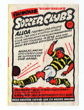 Anglo-American Gum Bell Boy Series wax wrapper Famous Soccer Clubs #77 Alloa