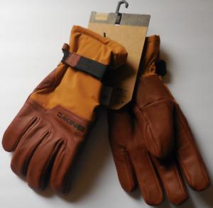 DAKINE Men Tacoma Snowboard & Ski Gloves Color Redearthcm Size Large New