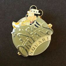 Disneyland New Orleans Square Gold Writing Mickey Mouse Pin