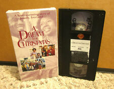 A DREAM FOR CHRISTMAS family Hari Rhodes 1973 holiday TV movie VHS Beah Richards