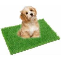 Indoor Puppy Dog Pet Potty Training Pee Pad Pet Toilet Grass Lawn V7S5 AU N4Z5