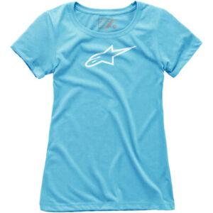 Alpinestars Women's Ageless T-Shirt (Light Blue) Choose Size