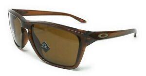 Oakley Sylas Men's Prizm Bronze Polished Root Beer Frame Sunglasses OO9448-0257