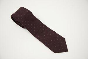 NWT  Brunello Cucinelli Men's 100% Wool Polka-Dot Necktie One Size  A191
