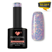 3D-010 VB™ Line Multicolour under Glass Glitter *UV-LED soak off gel nail polish