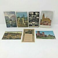 Vintage postcards lot of 7