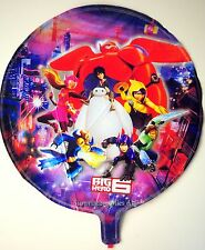 "Big Hero 6 round foil balloon 18""(45cm) birthday party decoration **AU Seller!"