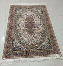 4x7 ft 100 % Silk PERSIAN Carpet Hanmade High Quality with Sign