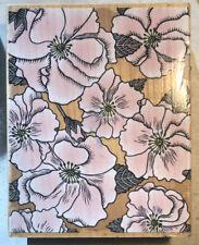 Rubber Stamp ~Hero Arts Rose Portrait Background