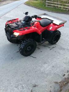 Honda TRX420 FE Farm Quad Bike 4x4 4wd ATV trx 420 Fourtrax