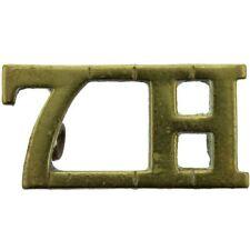 Original 7th Hussars Regiment Shoulder Title Badge - KY32