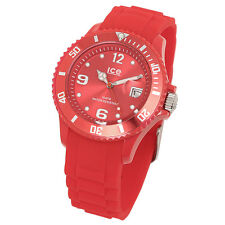 Ice Watch SI.RD.U.S.09 Ice Forever Red Silicone Unisex Watch