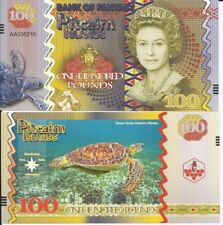 PITCAIRN ISLANDS BILLETE 100 LIBRAS 2018 FANTASIA
