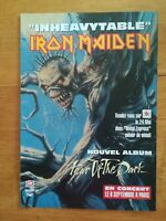 Photo presse années 90 promotion - IRON MAIDEN - INHEAVYTABLE FEAR OF THE DARK