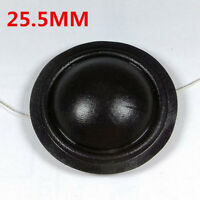 25.5MM Dome TREBLE Tweeters Voice Coil BLACK Silk Diaphragm 8OHM Speaker Repair