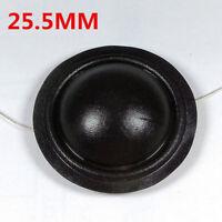 25.5MM Dome TREBLE Tweeters Voice Coil BLACK Silk Diaphragm 8OHM Speaker Repair