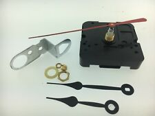 """Takane Quartz Battery Clock Movement with Hands 17/32"""" Shaft fits 1/8"""" Dial USA"""