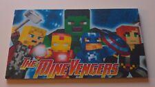The mine avengers Inspired Minecraft Name Plaque Child's Bedroom Door