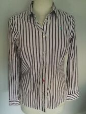 Joules Ladies Striped Long Sleeve Shirt Size 8. Great Condition.