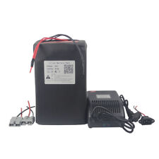 48V 30Ah Lithium Li-ion Battery Pack For 1500W Ebike Scooter Pedicab 5A Charger