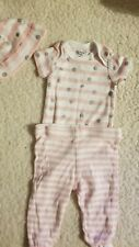 Nwot Gerber Baby Girl Size 0/3 Month Outfit