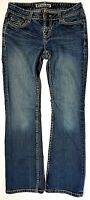 """Women's * BKE Thick Stitch SABRINA MID RISE BOOT Stretch JEANS - SIZE 27 x 28.5"""""""