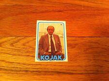 Vintage 1970's Miniature KOJAK TV SHOW SERIES Telly Salvalas Trading Card #16