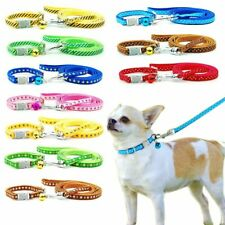 2 Piece/lot Dog Cat Collar Leash Pet Collar Lead For Cat Puppy Small Pet Outdoor
