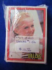1981 Dallas Donruss Complete 56 Card Entertainment Set Show
