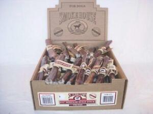 Smokehouse Pet Products Dsm50503 60-Pack Bully Dog Treat Stick Shelf Display B..