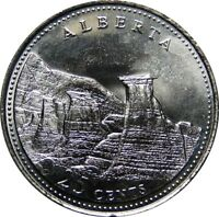 1992 Canada 125th Alberta 25 Cents Gem BU UNC Quarter!!