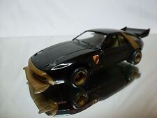 SOLIDO 49 PORSCHE 928 + CONVERSION KIT - BLACK 1:43 - GOOD CONDITION