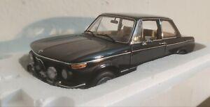 AUTOart 1974 BMW L 2002 BLACK Millennium  1/18 Diecast New in Box RARE!
