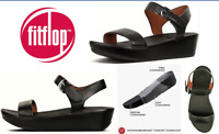Fitflop comfort shoes Bon II Leather sandals - FitFlop Bon II Black
