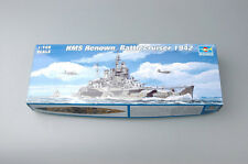 05764 Trumpeter Static Model 1/700 Warship HMS Rendwn Battlecruiser 1942 Boat