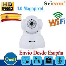 355° Sricam 720P CCTV P2P WIFI WLAN IP Cámara H.264 Seguridad Visión Nocturna ES