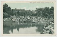 Unused Postcard Rock Garden Masonic Homes Elizabethtown Pennsylvania Pa
