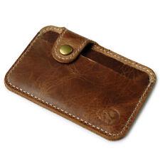Vintage Men's Money Clip Slim Credit Card ID Holder Wallet Money Cash Holder HOT